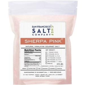 pink salt, himalaya, trace minerals